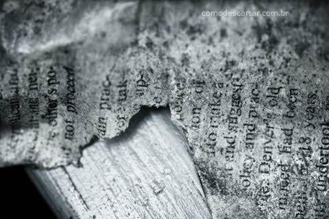 Como descartar papéis importantes, destruir documentos papel