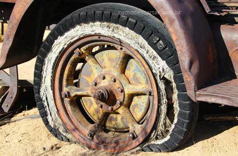 Descarte de pneus, como descartar, onde descartar