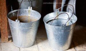 Como descartar baldes