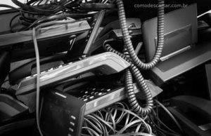 Como descartar aparelho de telefone fixo