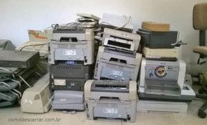 Como descartar impressoras corretamente