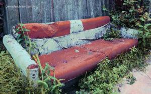 Como descartar sofá