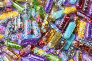 Como descartar glitter e purpurina