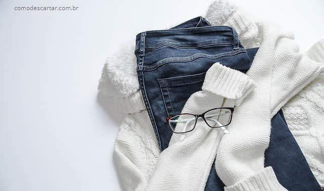 Como descartar jeans