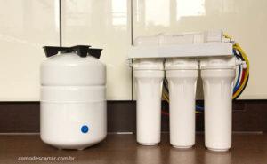 Como descartar filtro de purificador de água