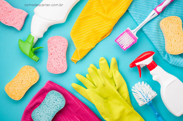 Como descartar escova de banheiro, escova sanitária