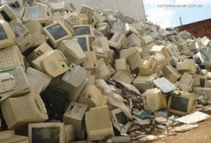 Como descartar monitores velhos