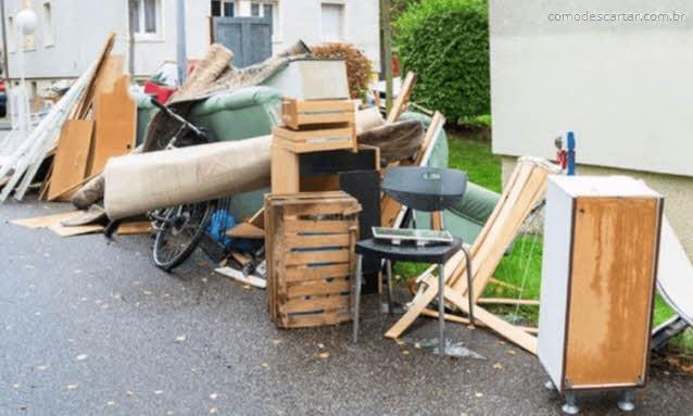 Como descartar móveis que não quer mais