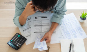 Como descartar notas fiscais