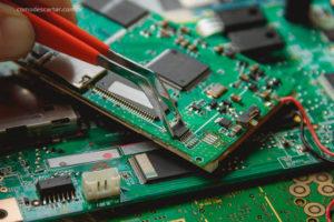 Como descartar placas de circuito, placas eletrônicas