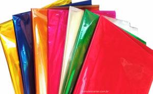 Como descartar papel celofane?