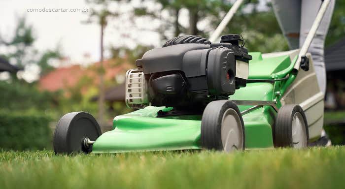 Como descartar cortador de grama