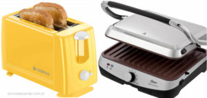 Como descartar grills e torradeiras